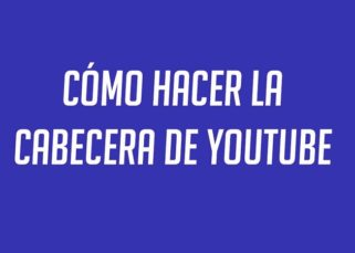 Cabecera canal YouTube