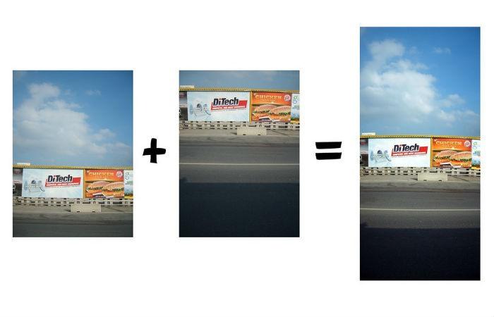 Crear imágenes panorámicas con Photomerge