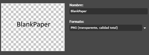 Guardar BlankPaper