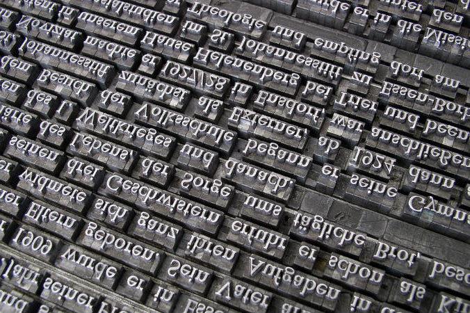 Identificar una tipografía