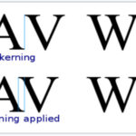 Kerning y el Keming