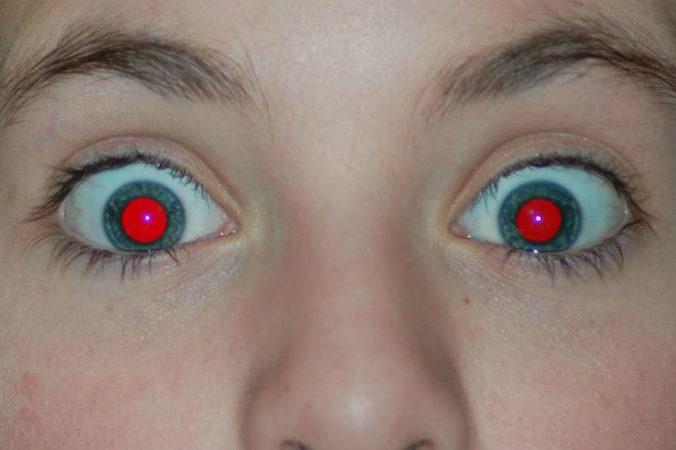 Eliminar los ojos rojos de las fotos
