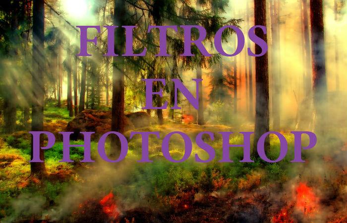 Filtros en Photoshop