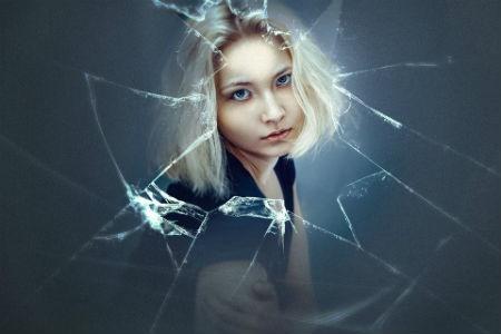 Pincel cristal roto photoshop