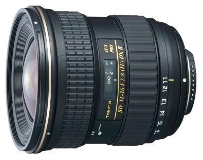 Tokina 11-16mm ƒ 2.8 AT-X PRO DXII